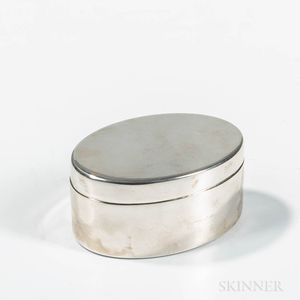 Tiffany & Co. Sterling Silver Shaker-style Box