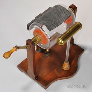 Nairne-style Cylinder Electrostatic Generator
