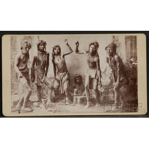 Photograph of Shoshone Dancers