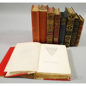 Nine Assorted 19th/20th Century Book Titles