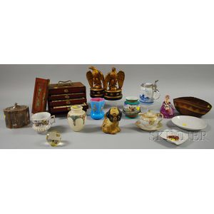Group of Assorted 19th and 20th Century Decorative Items