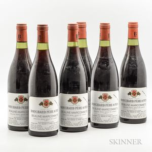 Bouchard Pere & Fils Beaune Marconnets 1976, 6 bottles