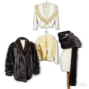 Group of Fur Clothing