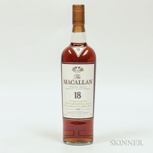Macallan 18 Years Old, 1 750ml bottle