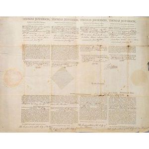 Jefferson, Thomas (1743-1826) & Madison, James (1751-1836)