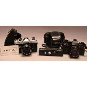 Mamiya ZE-2 35mm Camera and Lenses.