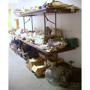 Large Lot of Antique, Domestic, Decorative, and Miscellaneous Items