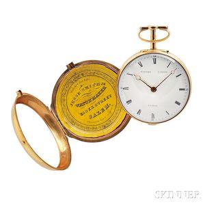 Eardley Norton Gold Pair-cased Watch