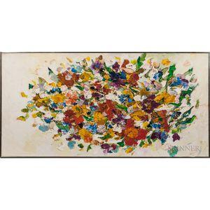 Helen Covensky (Polish/American, 1925-2007)      Flowers