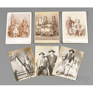 Four Cabinet Card Photographs