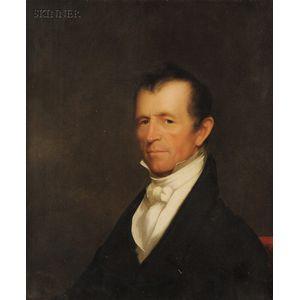 Chester Harding (American, 1792-1866)      Portrait of Alden Bradford