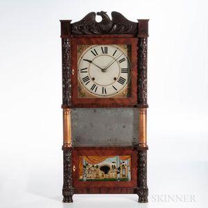 John Birge Triple-decker Shelf Clock