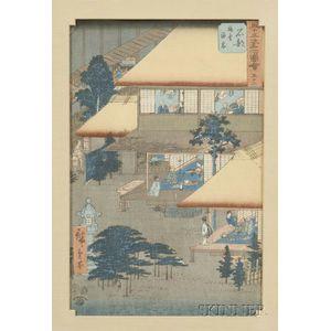Hiroshige:  Ishibe