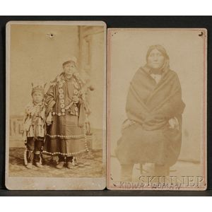 Two Carte de Visite Photographs