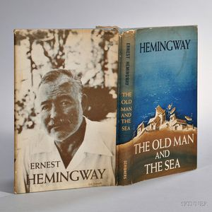 Hemingway, Ernest (1899-1961) The Old Man and the Sea,   First Edition.