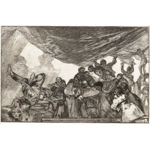 Francisco José de Goya y Lucientes (Spanish, 1746-1828)      Disparate Claro