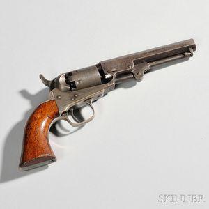 Identified Colt Model 1849 Pocket Revolver