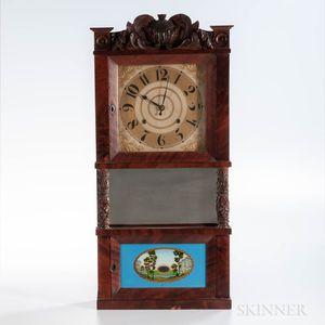C. & L.C. Ives Triple-decker Shelf Clock