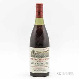 Armand Rousseau Gevrey Chambertin Clos St. Jacques 1976, 1 bottle