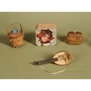 Four Doll Accessories