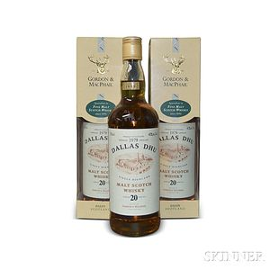 Dallas Dhu 20 Years Old 1979, 3 750ml bottles (two in oc)