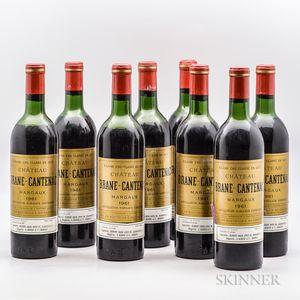 Chateau Brane Cantenac 1961, 8 bottles