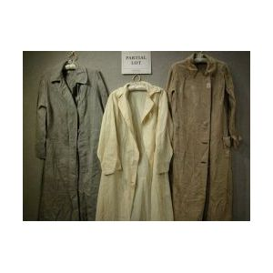 Nine Late 19th and Early 20th Century Linen and Cotton Coats