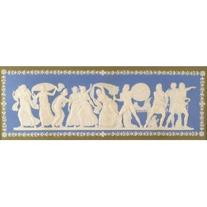 Wedgwood Three Color Jasper Dip Plaque