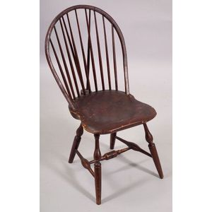 Windsor Bow-back Braced Side Chair, branded