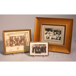 Four Framed Photographs, c. 1910-20
