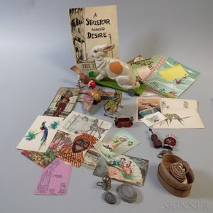 Small Group of Toys and Miniature Items