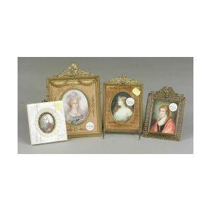 Four Continental Portrait Miniatures