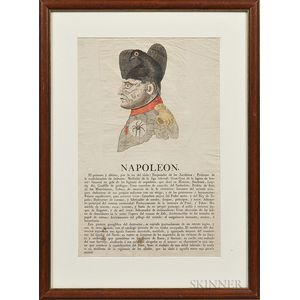 """""""Napoleon"""" The Triumph of 1813   Etching"""