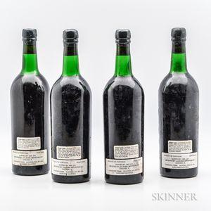 Taylor 1970, 4 bottles