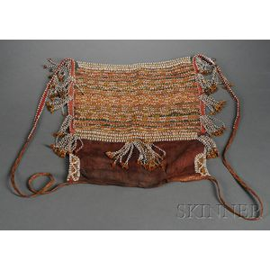 Philippine Beaded Fiber Shoulder Bag