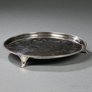 George III Sterling Silver Salver