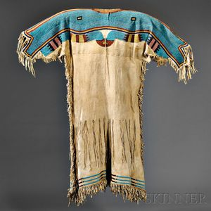 Lakota Beaded Hide Dress