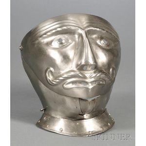 Steel Late 16th Century-style Mask Visor