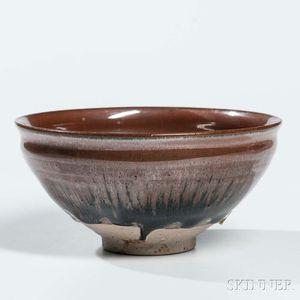 Stoneware Tea Bowl with Hare