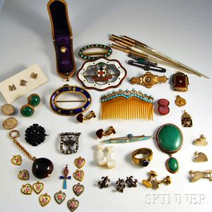 Large Group of Vintage Accessories