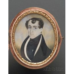 Portrait Miniature of William Blake