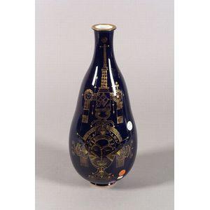 Sevres Porcelain Modernist Vase