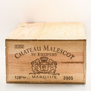 Chateau Malescot St. Exupery 2005, 12 bottles (owc)