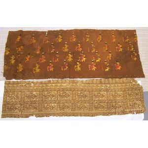 Two Pre-Columbian Textile Fragments