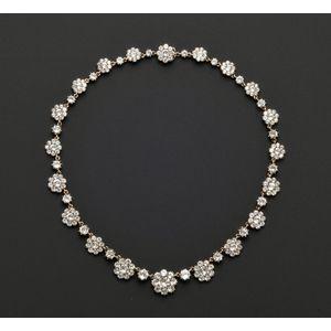 Antique Foil-backed Paste Necklace