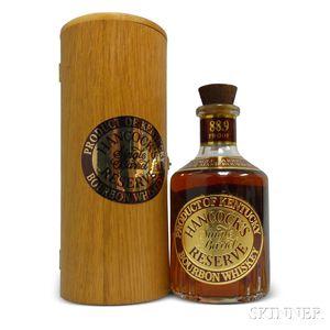 Hancocks Single Barrel Reserve Bourbon, 1 750ml bottle (pc)