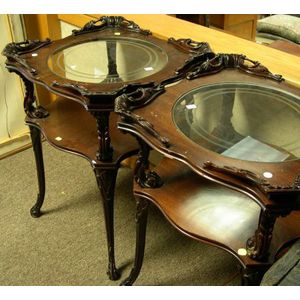 Pair of Rococo Side Tables.