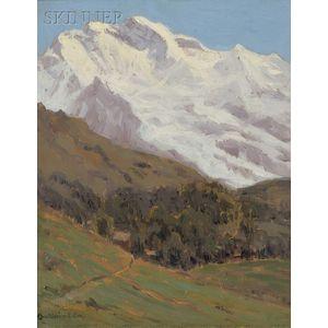 Charles Warren Eaton (American, 1857-1937)      The Jungfrau