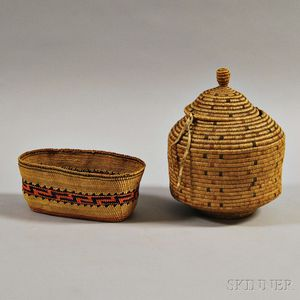 Two Northwest Baskets