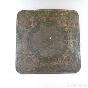 American Stove Board Company Lithographed Tin Panel